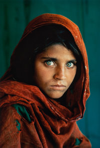 Steve McCurry (American, b. 1950) Afghan Girl, Pakistan, 1985 Dye coupler, printed later 18 x 12