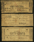 Obsoletes By State:Arkansas, AR - Lot of 3 M. Mayers & Bro., Fort Smith Notes payable in Multiple Locations.. ... (Total: 3 notes)