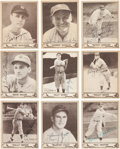 Autographs:Sports Cards, Signed 1940 Play Ball Baseball Card Collection (42). ...