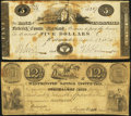 Obsoletes By State:Maryland, MD- Lot of 2 Westminster Notes. . ... (Total: 2 notes)