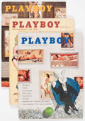 Magazines:Miscellaneous, Playboy Early Issues Group of 18 (HMH Publishing, 1960-62)....(Total: 18 Comic Books)