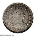 Early Dimes: , 1797 10C 13 Stars--Damaged--ANACS. VF20 Details. JR-2, R.4. Thescarcer of only two die marriages of the date, both of whic...