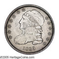 Bust Dimes: , 1835 10C MS65 NGC. JR-9, R.2. Easily recognized by the fancy 8 andrecut 3 in the date, and the second T in STATES is low. ...