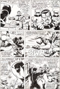 Original Comic Art:Panel Pages, Frank Giacoia and Sal Buscema Avengers #87 Page 16 OriginalArt (Marvel, 1971)....