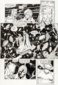 Original Comic Art:Panel Pages, Ron Lim and Joe Rubinstein Infinity Gauntlet #5 Page 27Original Art (Marvel, 1991)....