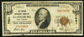 National Bank Notes:West Virginia, Clarksburg, WV - $10 1929 Ty. 1 The Union NB Ch. # 7681. ...
