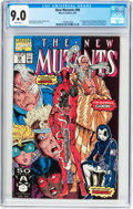 Modern Age (1980-Present):Superhero, The New Mutants #98 (Marvel, 1991) CGC VF/NM 9.0 White pages....
