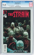 Modern Age (1980-Present):Horror, The Strain #1 (Dark Horse, 2011) CGC NM/MT 9.8 White pages....