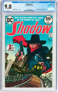 Bronze Age (1970-1979):Miscellaneous, The Shadow #1 (DC, 1973) CGC VF/NM 9.0 White pages....
