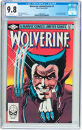 Modern Age (1980-Present):Superhero, Wolverine #1 Limited Series (Marvel, 1982) CGC NM/MT 9.8 Whitepages....