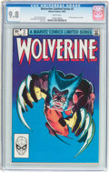 Modern Age (1980-Present):Superhero, Wolverine #2 Limited Series (Marvel, 1982) CGC NM/MT 9.8 Whitepages....