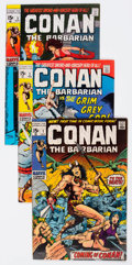 Bronze Age (1970-1979):Adventure, Conan the Barbarian Group of 6 (Marvel, 1970-71) Condition: Average FN.... (Total: 6 Comic Books)