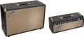 Musical Instruments:Amplifiers, PA, & Effects, 1964 Fender Tremolux Black Guitar Amplifier, Serial #A03714....