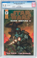 Modern Age (1980-Present):Science Fiction, Star Wars: Dark Empire II #2 Gold Foil Edition (Marvel, 1995) CGCNM/MT 9.8 White pages....