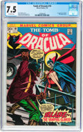 Bronze Age (1970-1979):Horror, Tomb of Dracula #10 (Marvel, 1973) CGC VF- 7.5 Off-white pages....