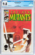 Modern Age (1980-Present):Superhero, The New Mutants #26 (Marvel, 1985) CGC NM/MT 9.8 Off-white to whitepages....