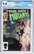 Modern Age (1980-Present):Superhero, The New Mutants #25 (Marvel, 1985) CGC NM/MT 9.8 White pages....