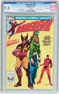 Modern Age (1980-Present):Superhero, Daredevil #196 Double Cover (Marvel, 1983) CGC NM/MT 9.8 Whitepages....