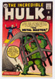 The Incredible Hulk #6 (Marvel, 1963) Condition: VG+