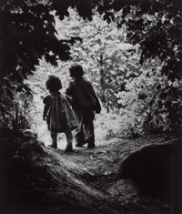 W. Eugene Smith (American, 1918-1978) Walk to Paradise Garden, 1946 Gelatin silver, printed late 196