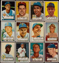 Baseball Cards:Lots, 1952 Topps Baseball Collection (119) With 23 High Number Cards....