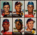Baseball Cards:Lots, 1953 Topps Baseball Collection (60)....