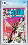 Modern Age (1980-Present):Miscellaneous, Conan the Barbarian #153 (Marvel, 1983) CGC NM/MT 9.8 Off-white to white pages....