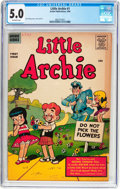 Silver Age (1956-1969):Humor, Little Archie #1 (Archie, 1956) CGC VG/FN 5.0 Off-white pages....