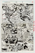 Original Comic Art:Panel Pages, Mike Manley Darkhawk #20 Page 9 Original Art (Marvel,1992)....