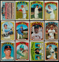 Baseball Cards:Sets, 1972 Topps Baseball Near Set (780/787). ...