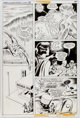 Dick Ayers and Jack Abel Freedom Fighters #8 Page 10 Original Art (DC, 1977)