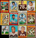 Football Cards:Lots, 1950's -1980's Topps, Bowman, Fleer Football Card Collection (1,050+). ...