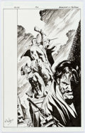 "Original Comic Art:Covers, Jackson ""Butch"" Guice and Mike Perkins Ruse #3 CoverOriginal Art (Marvel, 2011)...."