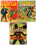 Big Little Book:Miscellaneous, Big Little Book Mandrake the Magician Related Group of 3 (Whitman,1940s) Condition: Average FN.... (Total: 3 Comic Books)