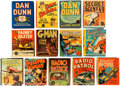 Big Little Book:Miscellaneous, Big Little Book Crime Related Group of 13 (Whitman, 1940s)Condition: GD/VG.... (Total: 13 Comic Books)