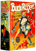 Golden Age (1938-1955):Science Fiction, Big Little Book #1409 Buck Rogers (Whitman, 1940) Condition:VG/FN....
