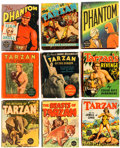 Big Little Book:Miscellaneous, Big Little Book Tarzan/Phantom Group of 9 (Whitman, 1940s)Condition: Average VG.... (Total: 9 Comic Books)