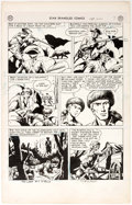 Original Comic Art:Panel Pages, Fred Ray Star-Spangled Comics #105 Tomahawk Story Page 7Original Art (DC, 1950)....