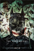 "Movie Posters:Action, The Dark Knight (Warner Brothers, 2008). One Sheet (27"" X 40"") SS Advance Style H. Action.. ..."