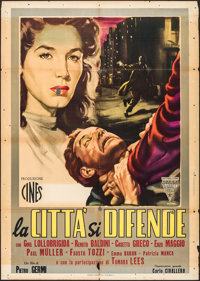 """Four Ways Out & Other Lot (Variety Films, 1951). Italian 2 - Foglis (2) (Approx. 39"""" X 55""""). Foreign..."""