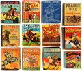 Big Little Book:Miscellaneous, Big Little Book Western/Frontier Group of (Whitman, 1940s)Condition: Average VG.... (Total: 12 Comic Books)