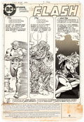 Original Comic Art:Panel Pages, Carmine Infantino and Dennis Jensen The Flash #308 Page 1Original Art (DC, 1982)....