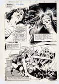 Original Comic Art:Panel Pages, Gene Colan and Frank McLaughlin Wonder Woman #302 Page 2Original Art (DC, 1983)....