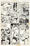 Sal Buscema and Vince Colletta Marvel Team-Up #37 Page 6 Original Art (Marvel, 1 Comic Art