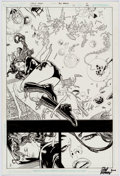 Original Comic Art:Splash Pages, Carlos Magno and Rodney Ramos Countdown #22 Splash Page 1Original Art (DC, 2008)....
