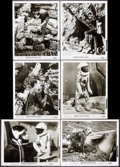 """Movie Posters:Science Fiction, Robinson Crusoe on Mars (Paramount, 1964). Photos (33) (8"""" X 10"""").Science Fiction.. ... (Total: 33 Items)"""