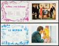 """Movie Posters:Foreign, And God Created Woman & Other Lot (Cocinor, 1956). French Programs (2) (Multiple Pages, 9.5"""" X 12.25""""). Foreign.. ... (Total: 2 Items)"""