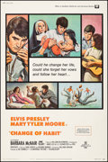 "Movie Posters:Elvis Presley, Change of Habit (Universal, 1969). Poster (40"" X 60""). ElvisPresley.. ..."