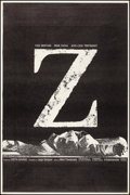 """Movie Posters:Foreign, Z (Cinema 5, 1969). Poster (40"""" X 60""""). Foreign.. ..."""