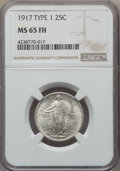 Standing Liberty Quarters, 1917 25C Type One MS65 Full Head NGC. NGC Census: (738/394). PCGS Population: (1131/575). CDN: $640 Whsle. Bid for problem-...